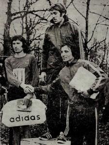 Miki prvi na Belom Krosu 1975.g